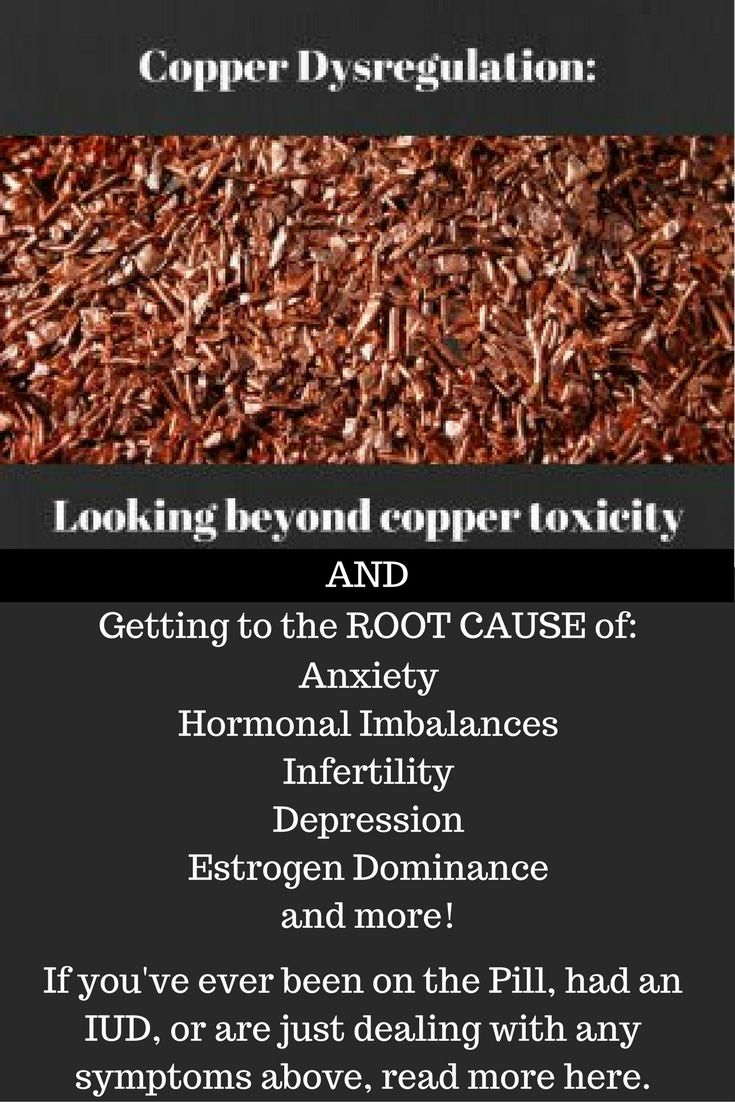 Copper Imbalance Looking Beyond Copper Toxicity Copper Toxicity