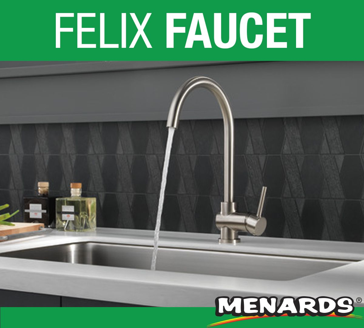 the delta felix faucet makes an