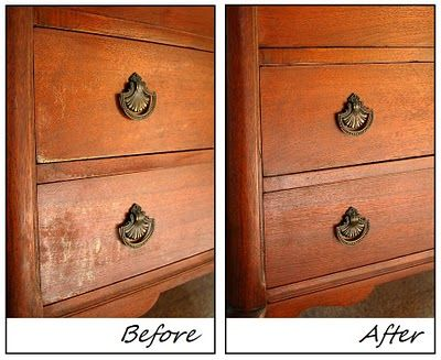 Refresh Wood Furniture Without Refinshing