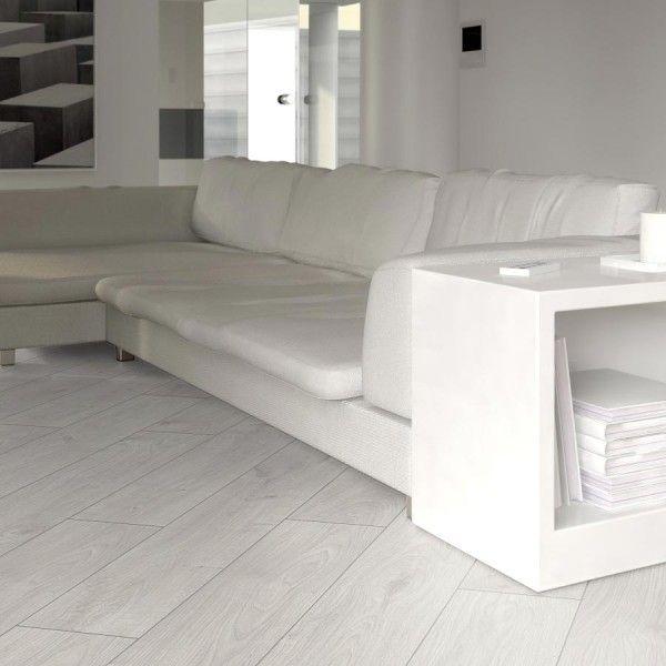 Prestige White Oak 8mm V Groove Laminate Flooring