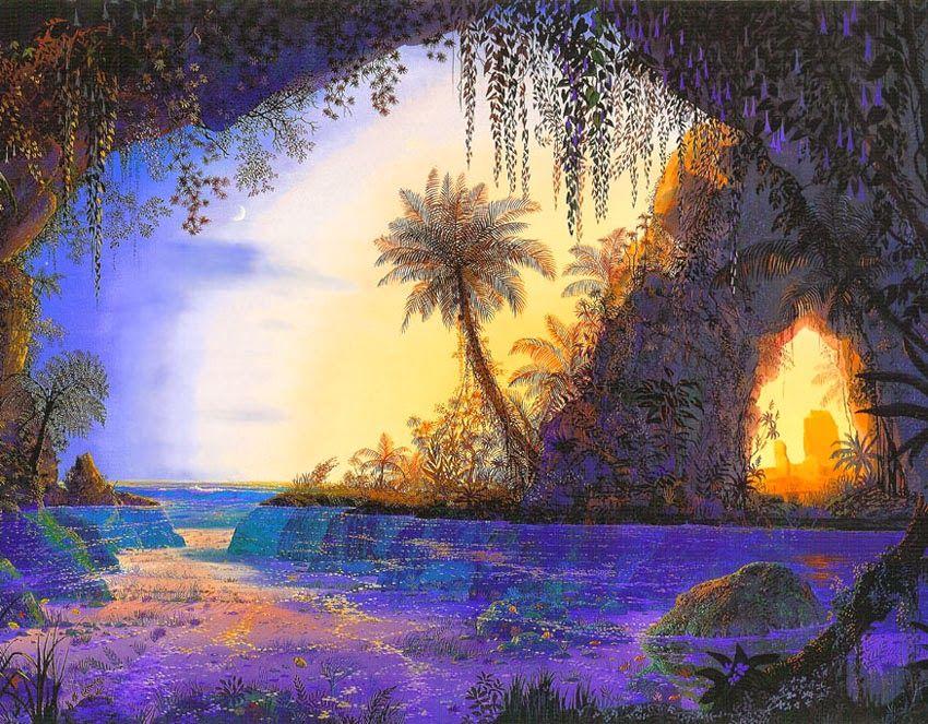 John Mason ~ Visionary landscape painter