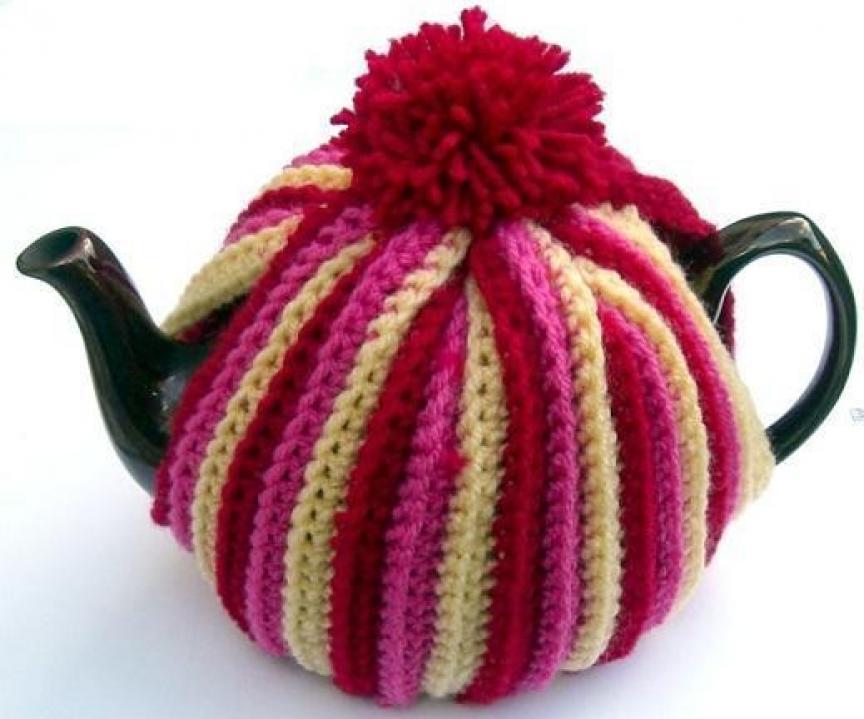 Crochet Pattern for Tea Cosy teapot cozy DK PDF by thetreebridge ...