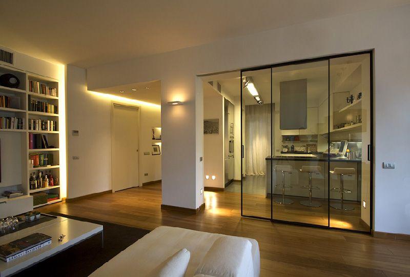 Separare visivamente la cucina dal living arredamento for Idee cucina living