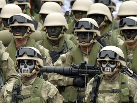 24 - Peruvian Army special forces