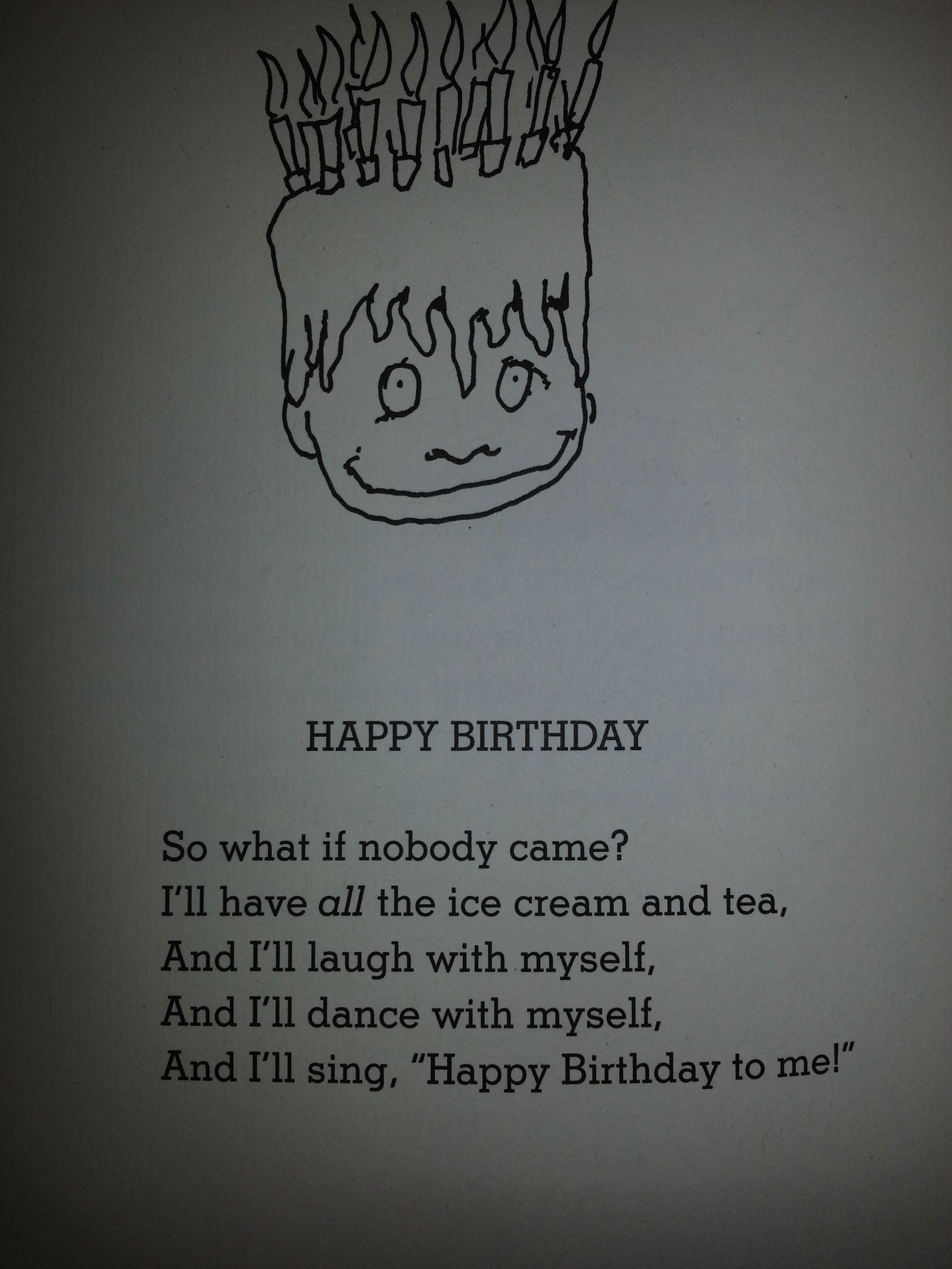The Original Forever Alone By Shel Silverstein Forever Quotes