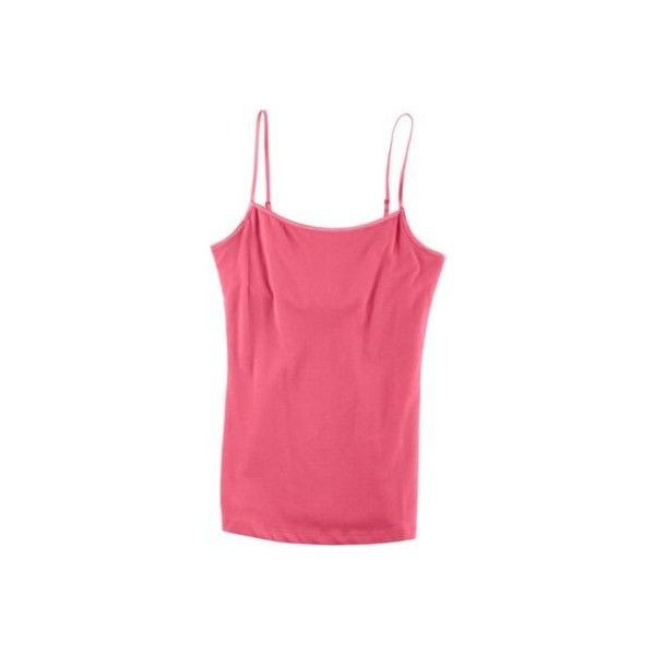 Poof Juniors Shelf Bra Cami ($9.99) ❤ liked on Polyvore featuring intimates, camis, pink, balconette bra, balcony bra, pink camisole, strappy lingerie and camisole lingerie