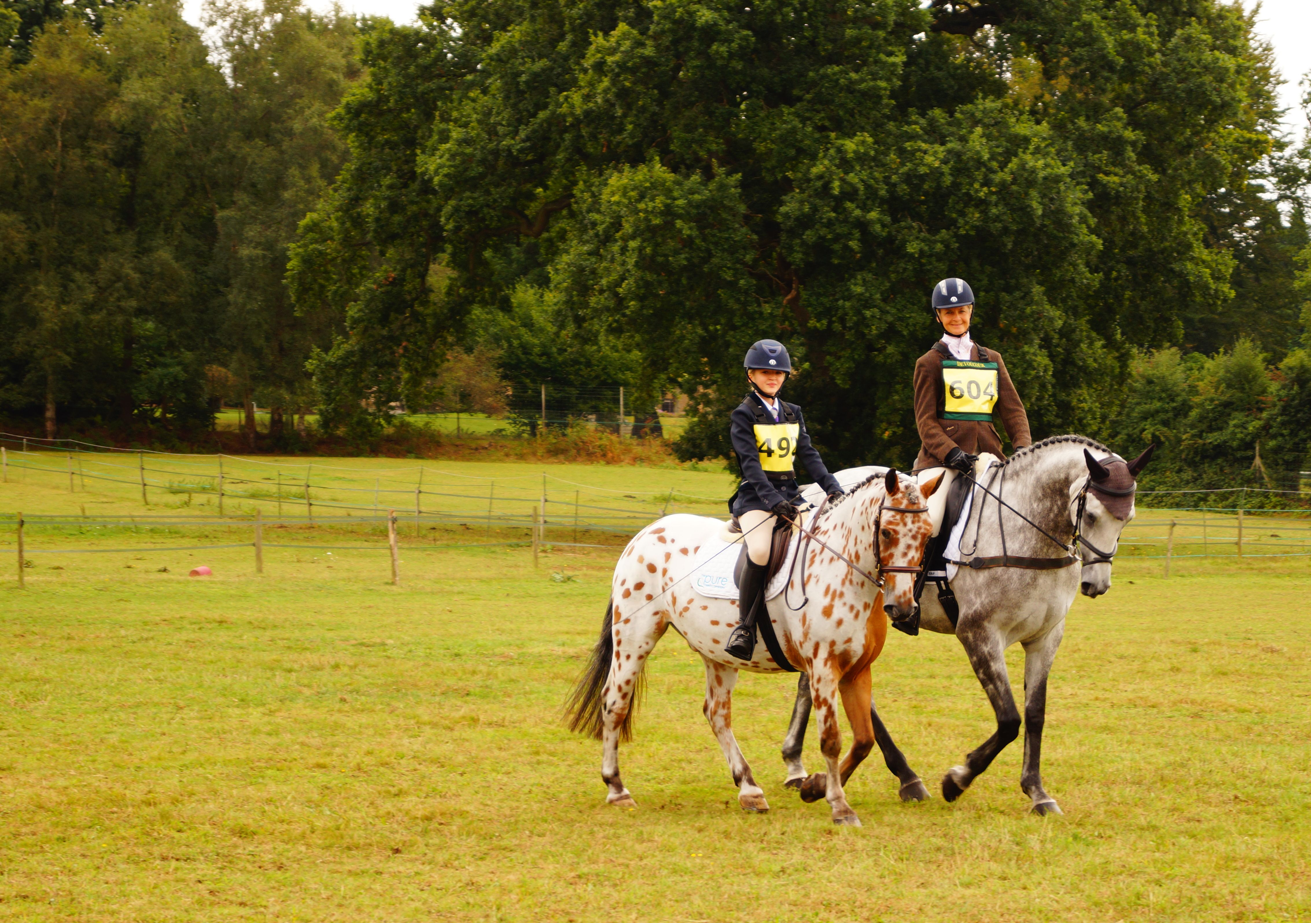 Lucinda and Joey and Ellie with Oscar at Munstead September 2016