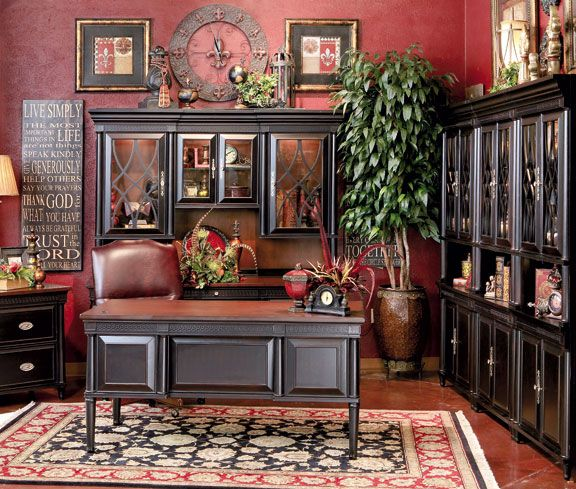 Model Home Furniture Outlet: Hemispheres Furniture Store Young Classics Home Office By
