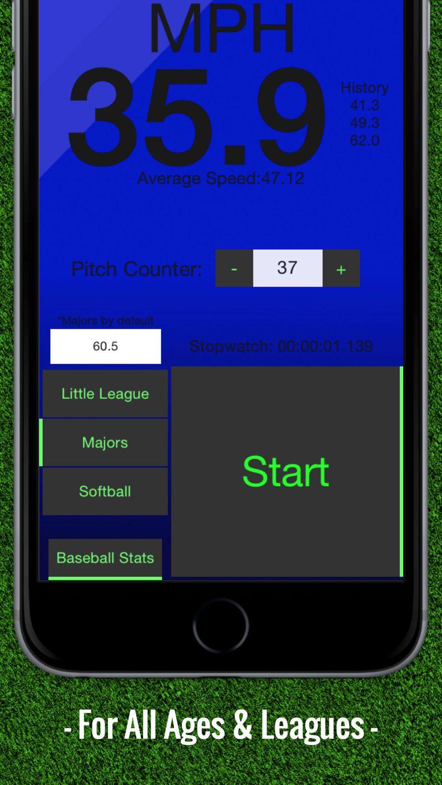 Baseball Pitch Speed - Radar Gun #Sports#TouchMint#ios#Games | 3d