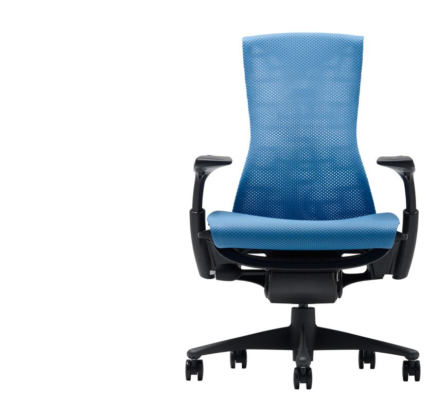 The Herman Miller Embody Task Chair For Example Is So