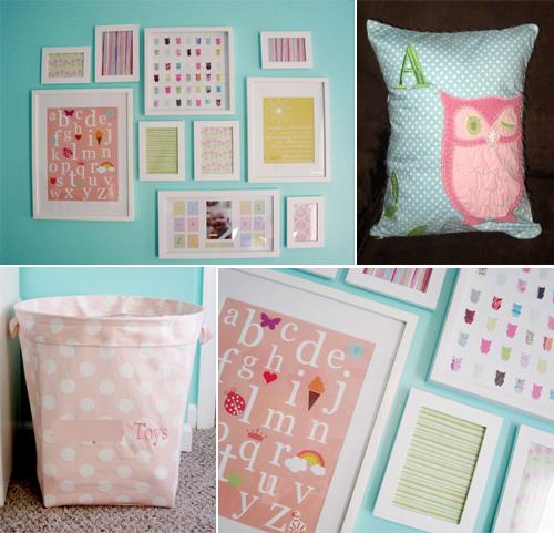 owl baby girl nursery room ideas creative baby room pinterest