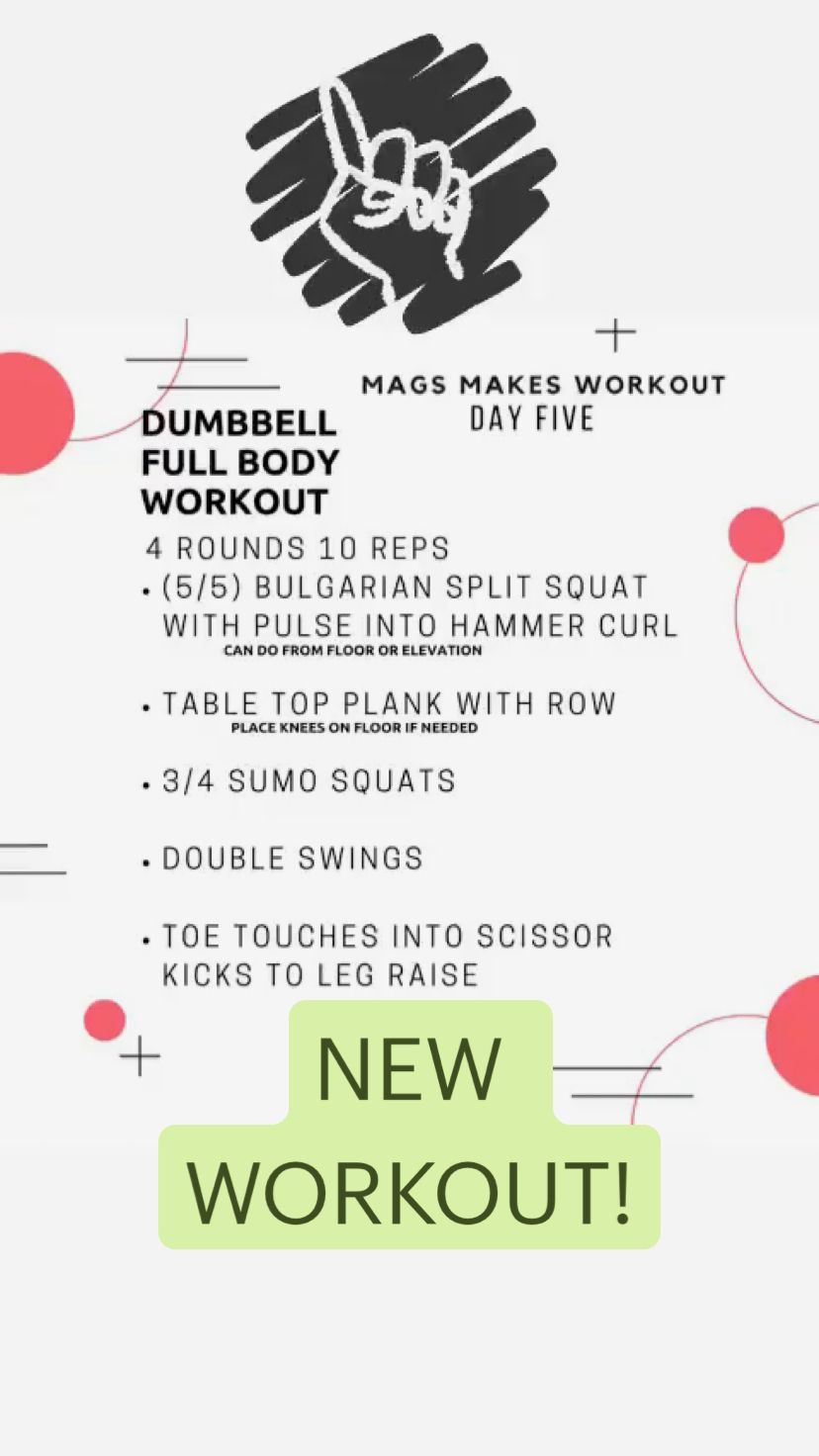 NEW WORKOUT!