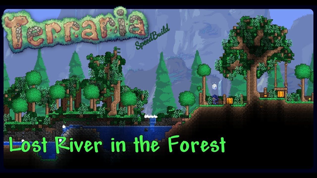 Terraria | How To Build | River in the Lost Forest