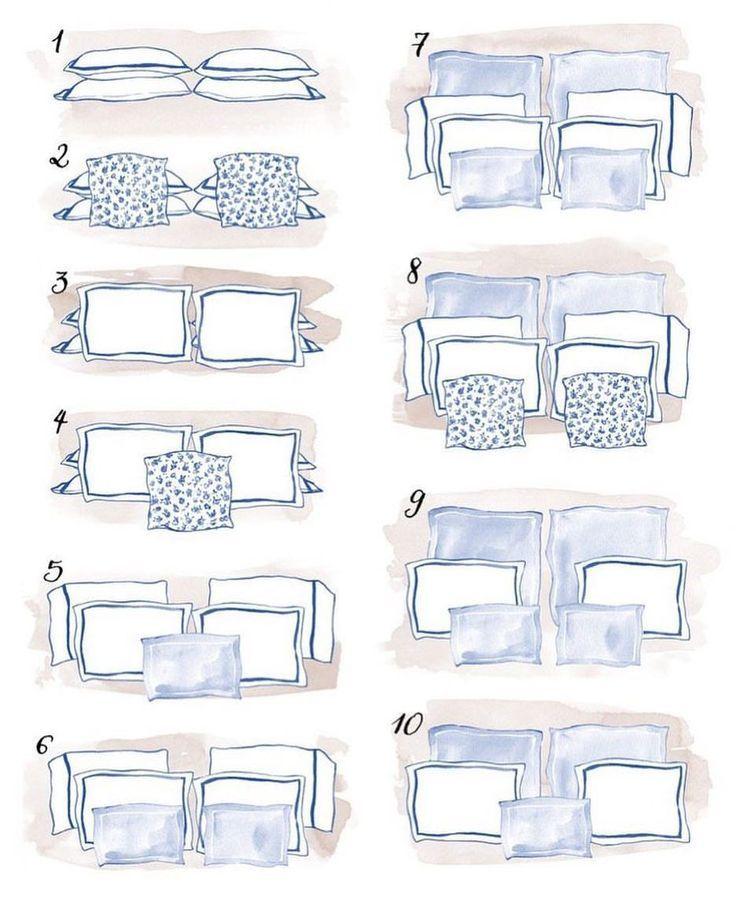 Photo of …. ma … come metto i cuscini sul letto? I cuscini adorna il …