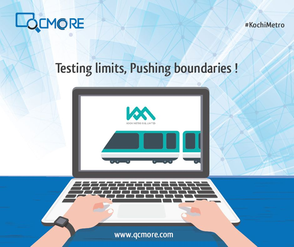 Like the #KochiMetro, #QCMore believes in testing yourself to reach perfection. We wish the people of Kochi fast traffic free rides on the Metro! #KochiMetro #MetroCity QCmore Software Testing Training Institute Kochi 9061645458 | www.qcmore.com