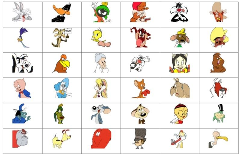 Cartoon Characters With In Name : Looney tunes characters tune squad pinterest