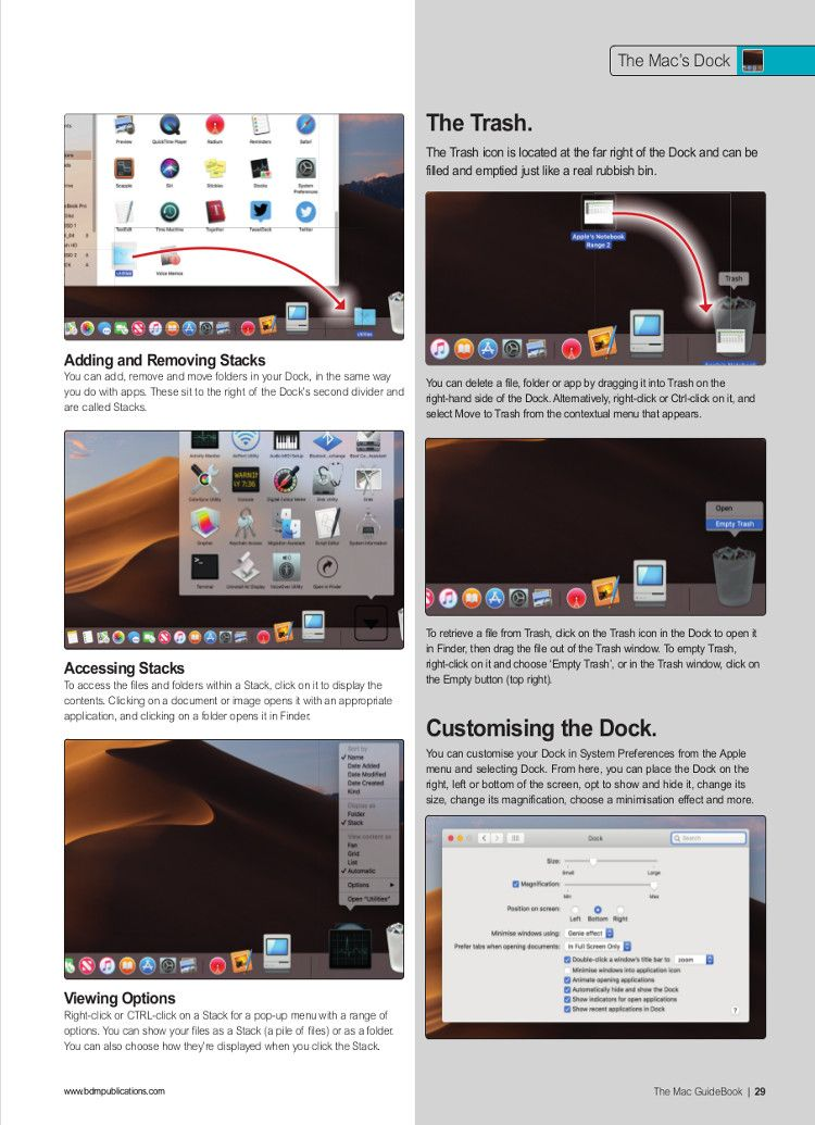 The Mac Guidebook Vol 30 Guide book, Apple notebook
