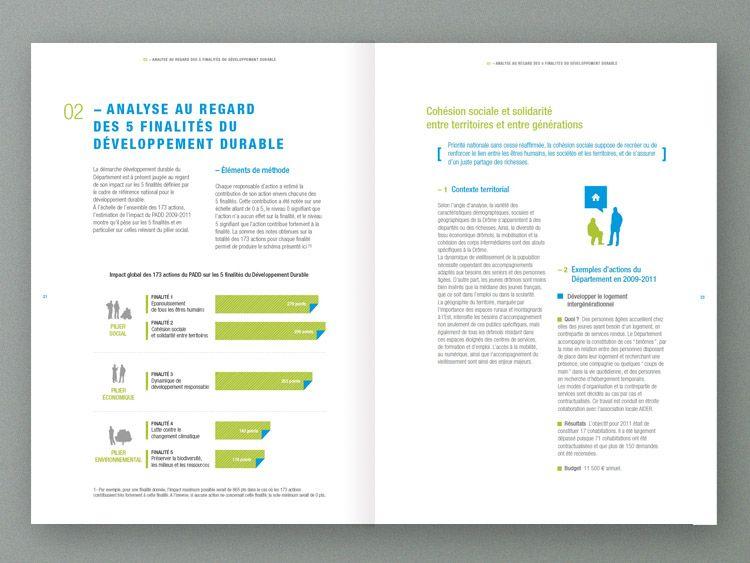 Rapport D Activité Drôme Rapport Mise En Page Graphique