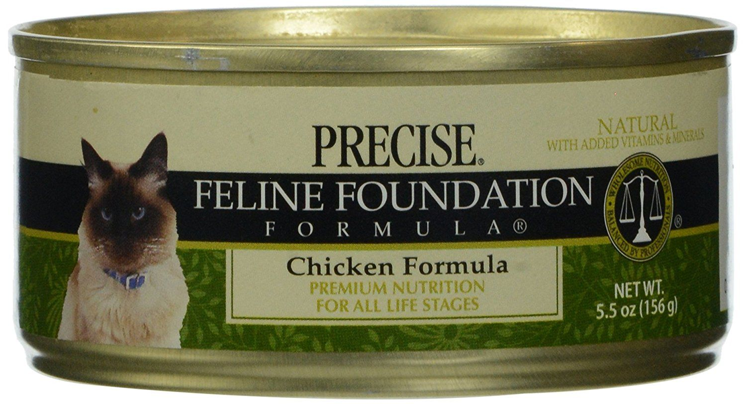 Precise, Canned Cat Food, Chicken Formula, 5.5 oz