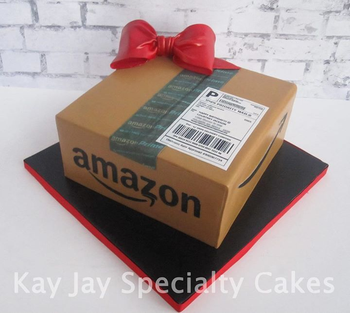 Amazon package cake yep its a cake all edible
