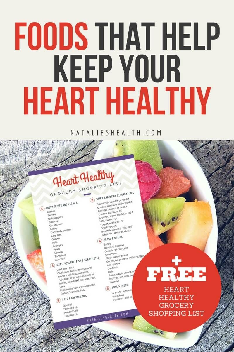 Foods That Help Keep Your Heart Healthy In 2020 Healthy Grocery Shopping Heart Healthy Heart Healthy Diet
