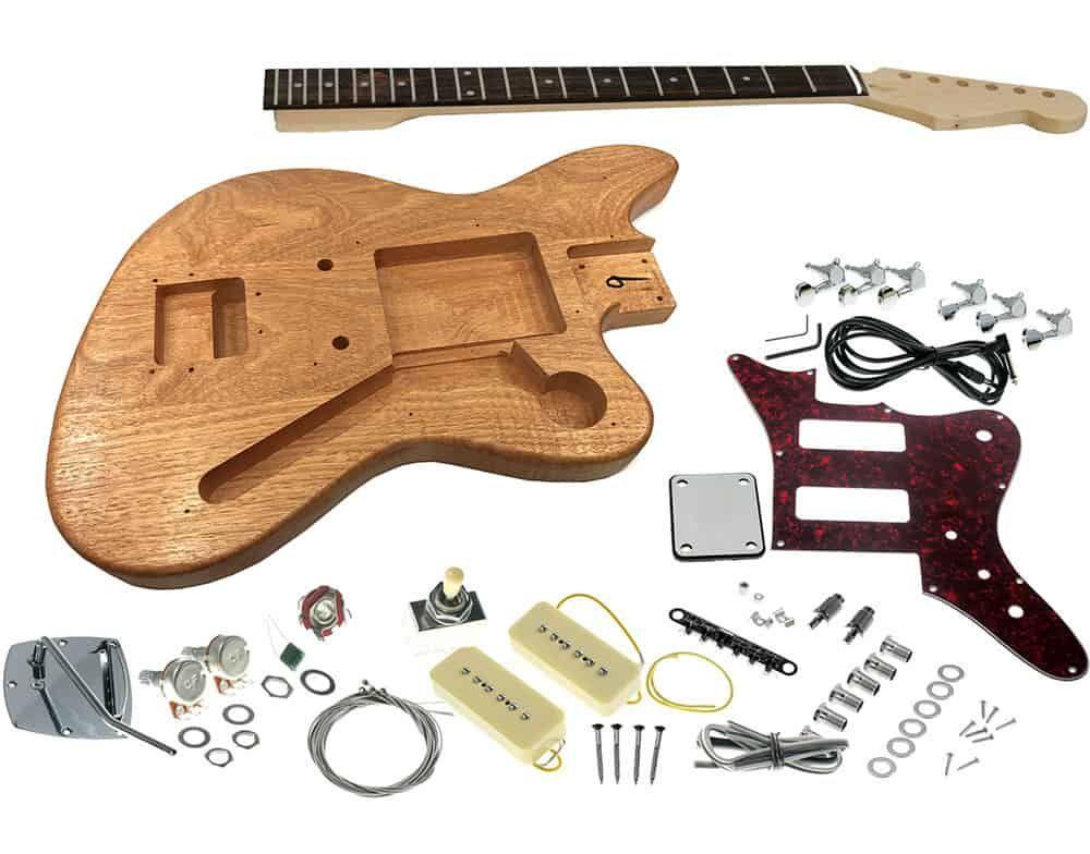 Solo Jmk 90 Diy Electric Guitar Kit Solo Music Gear Guitar Kits Diy Electric Guitar Electric Guitar Kits