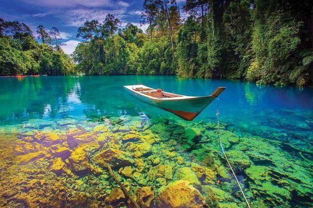 Jadi Ibu Kota Indonesia Ini 5 Destinasi Wisata Tersembunyi Di Kalimantan Timur Kepulauan Pemandangan Danau