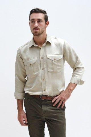 Hickman & Bousfield Cotton Safari Shirt