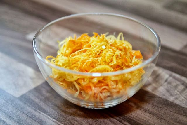 Experimente aus meiner Küche Polnischer Rohkostsalat (Surówka