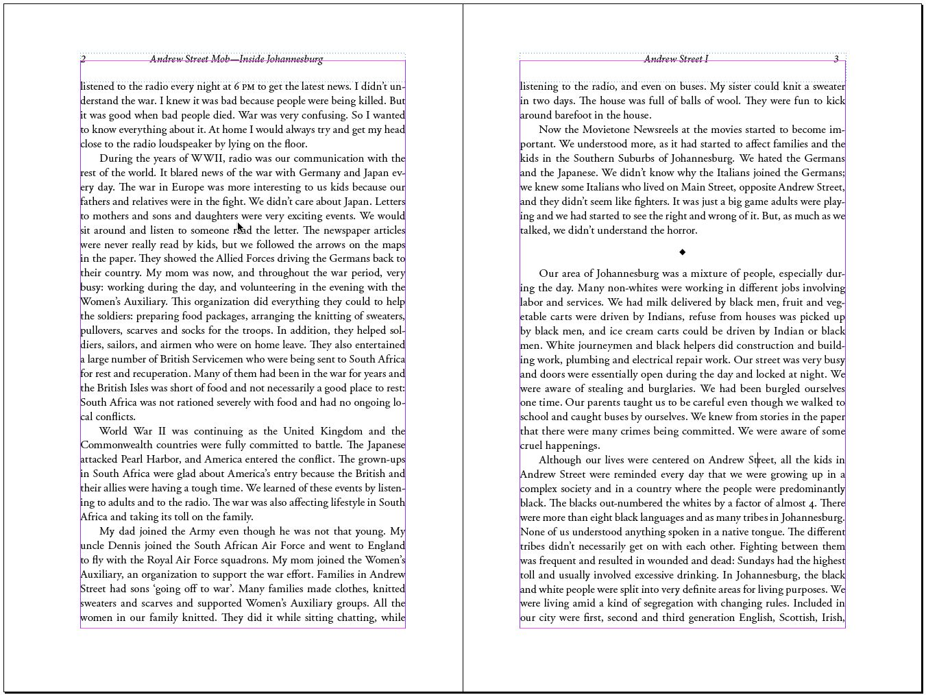 Good Margins Makes It Attractive To Read Contrasting Page Numbers