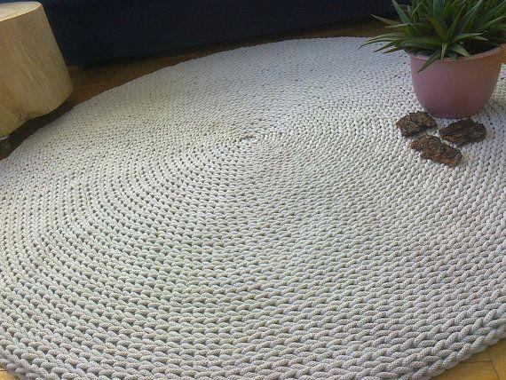 Rund Teppich Dekor Haushaltswaren Haus Und Wohnen Beige