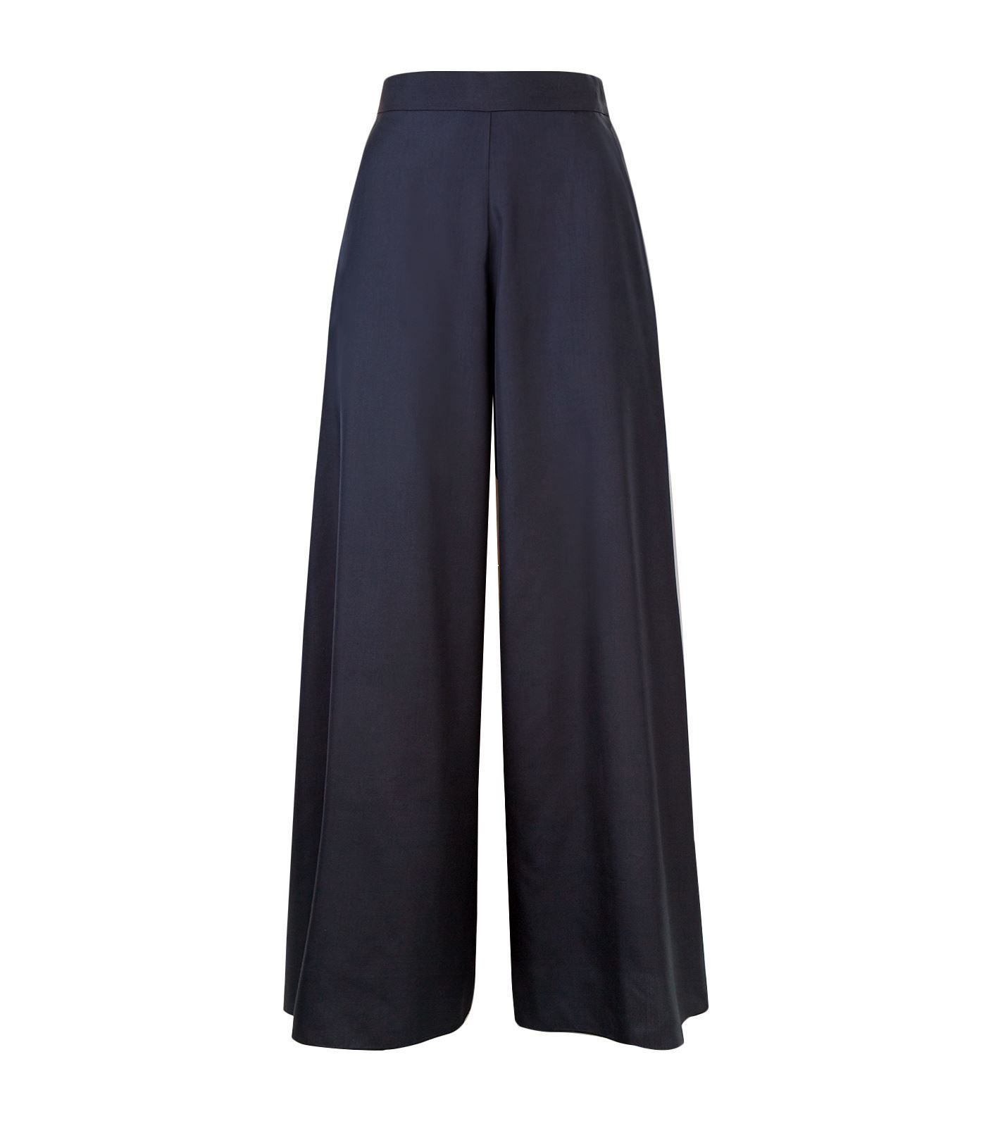 4e1bdb4942 Shop Self Belted Box Pleated Palazzo Pants online. SheIn offers Self Belted  Box Pleated Palazzo Pants & more to fit your fashionable needs.