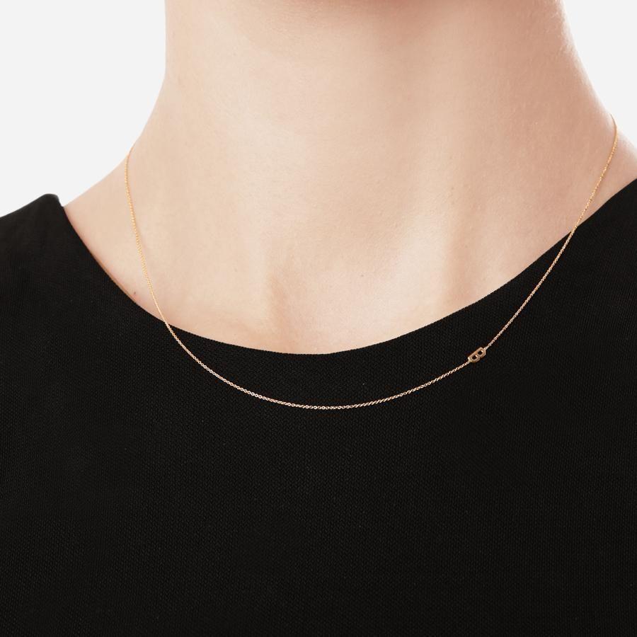 3380920c52f913 Asymmetric Initial Necklace | Jewelry | Initial necklace, Jewelry ...