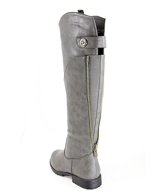 Grey Riding Boots Grey suede rid | Shoes | Pinterest | Grey ...