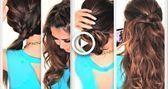 #Einfache #Frisuren #Faul #Lockenfrisuren 6 EASY LAZY HAIRSTYLES 6 EASY LAZ …, #Curly …