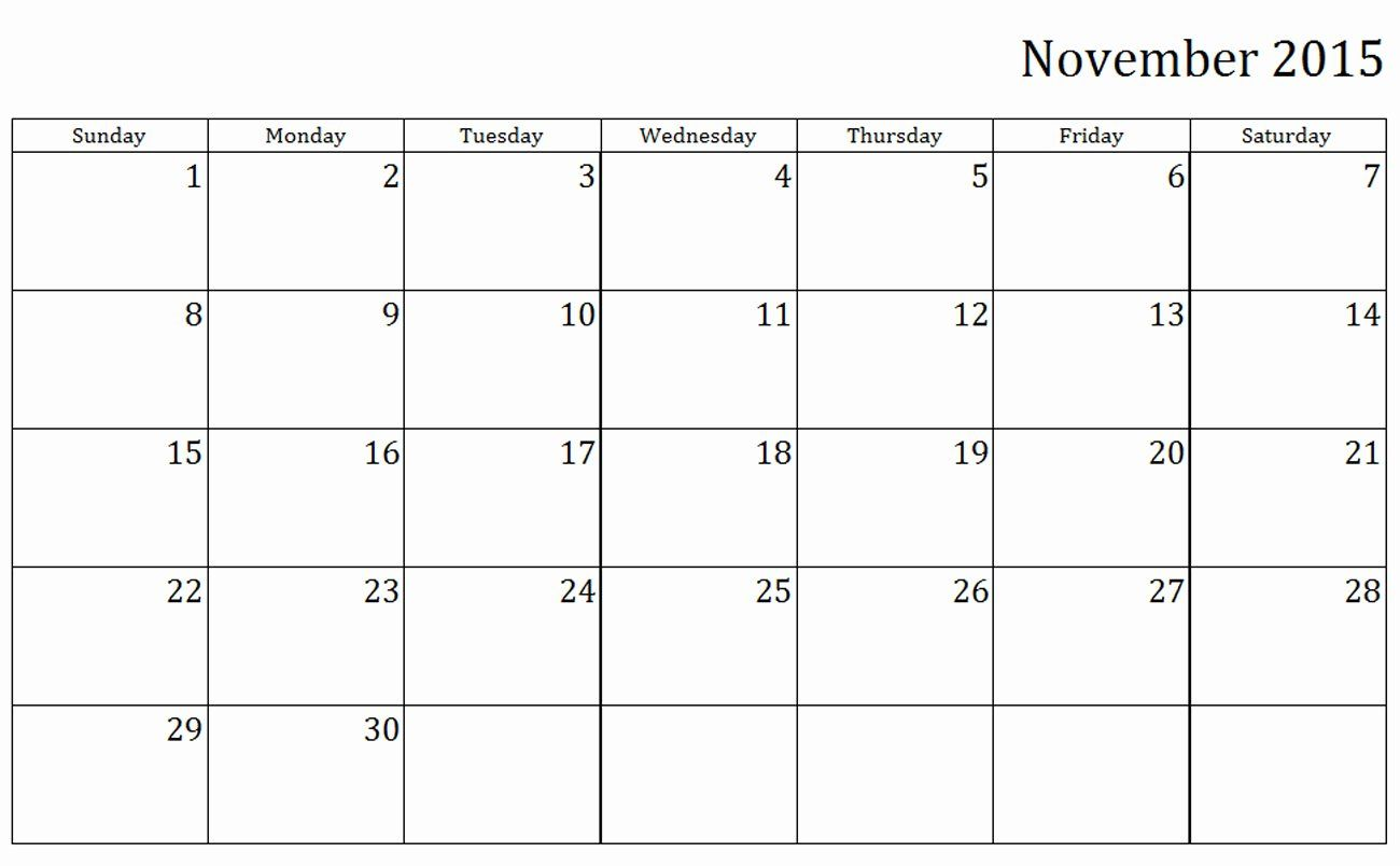 24 printable monthly calendar templates in 2020