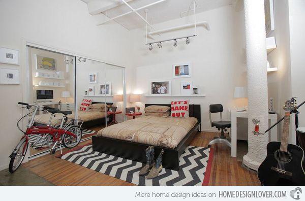 15 Industrial Bedroom Designs Ideas