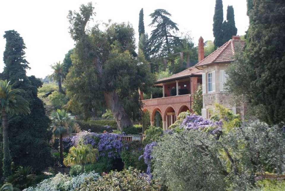 giardini villa pergola alassio Giardini inglesi
