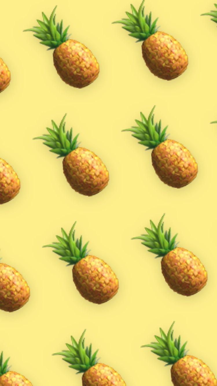 pineapple aesthetic wallpaper in 2020 aesthetic