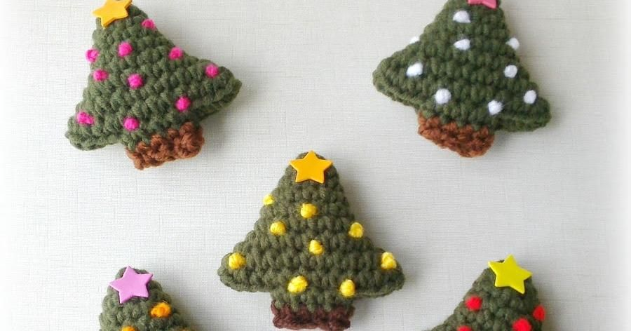 Imán de Árbol de Navidad a crochet | Ideas | Pinterest | Navidad ...