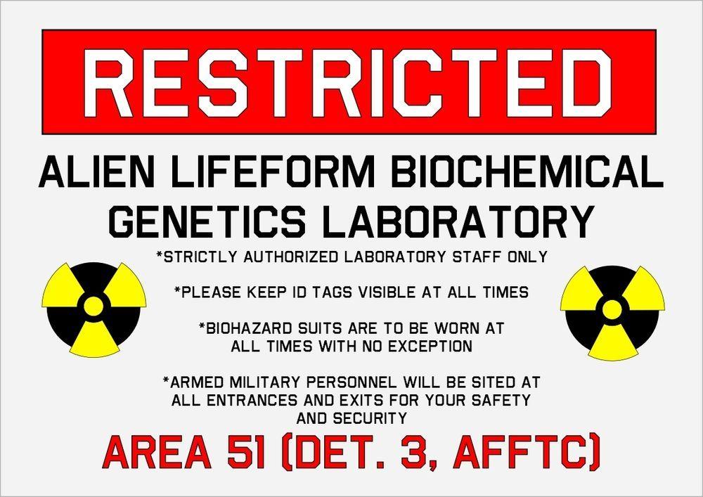 Restricted Area 51 Project Blue Book Area 51 Aliens Area 51