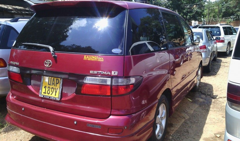 A Toyota Estima UAP on sale is a well maintained car at 12