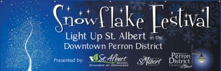 Snowflake Festival Light Up St. Albert - Nov 29, 2013