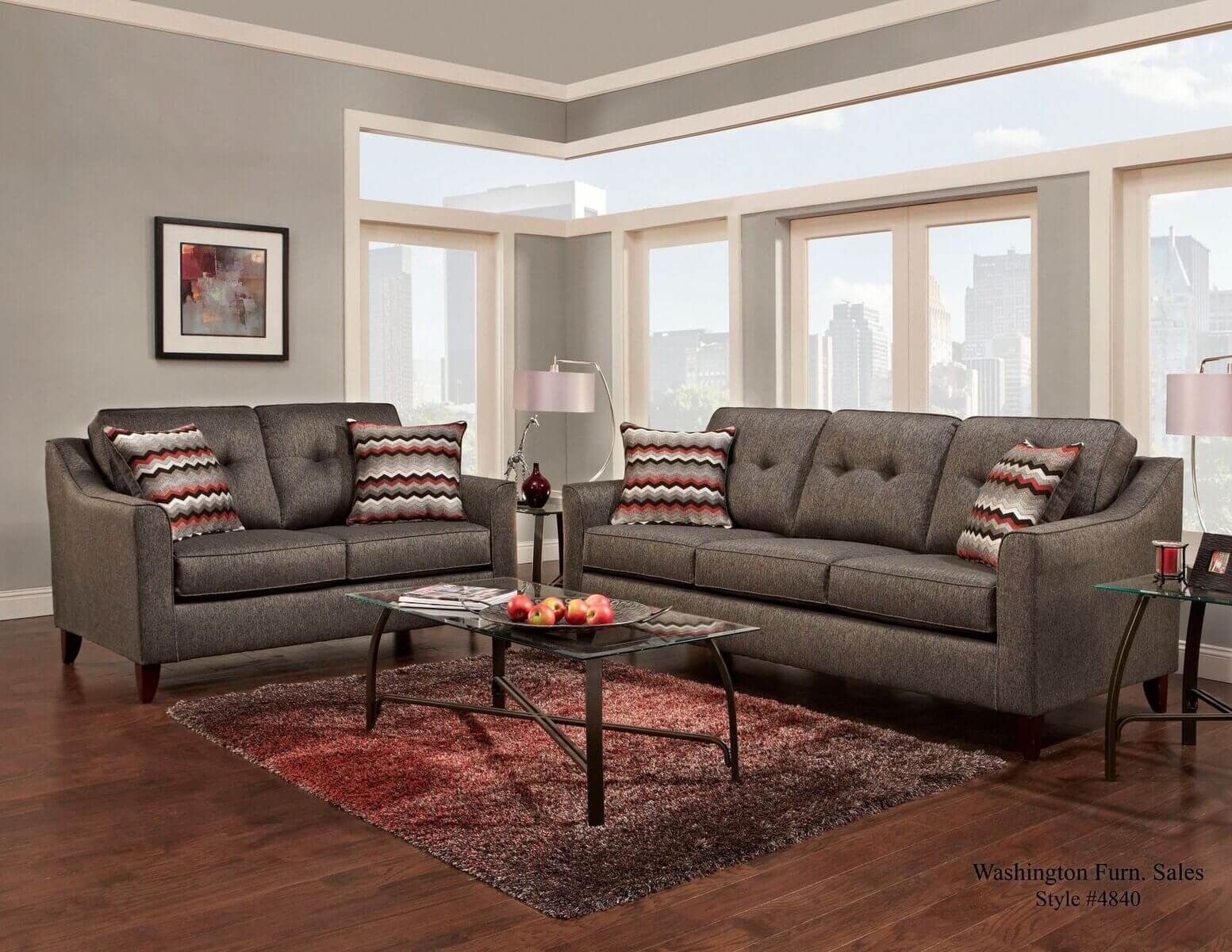 Stoked Ash Sofa Loveseat Available At Urban Furniture Outlet Www