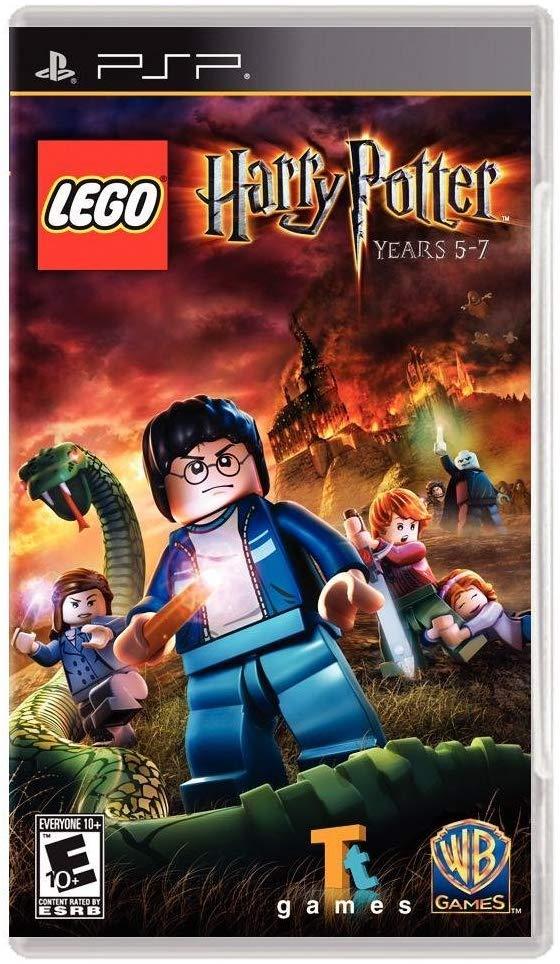 Amazon Com Lego Harry Potter Years 5 7 Sony Psp Video Games Lego Harry Potter Harry Potter Games Harry Potter Years