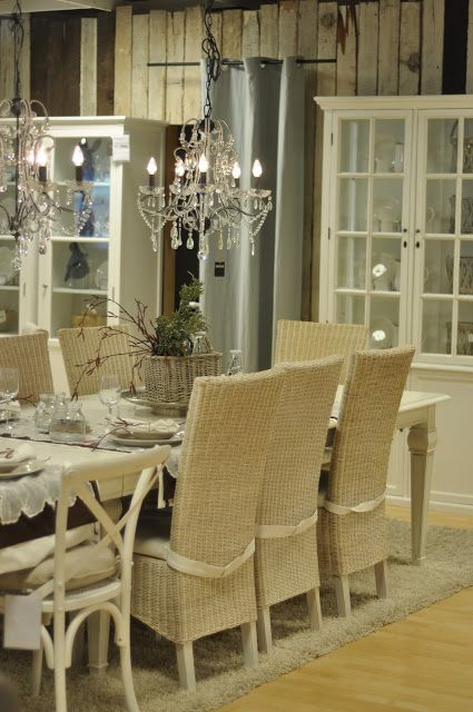 seagrass dining chairs mismatched sillas mimbre muebles pinterest