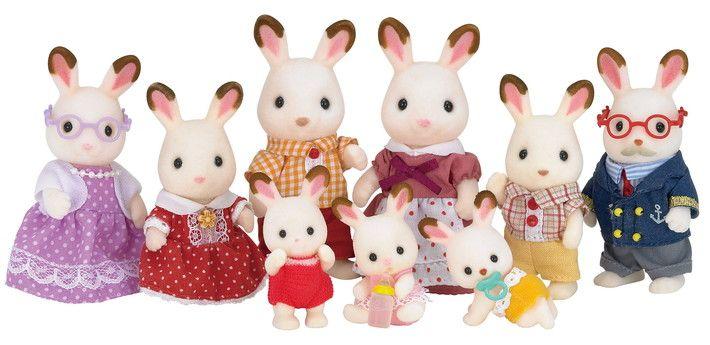 Sylvanian Families VS-04 Kindergarten Friends 3 Dolls and Costumes Set