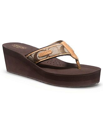 f131271728f9 COACH JULIET SANDAL - Coach Shoes - Handbags   Accessories - Macys ...