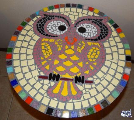 Mesa mosaiquismo buho manualidades pinterest mesas for Dibujos para mosaiquismo