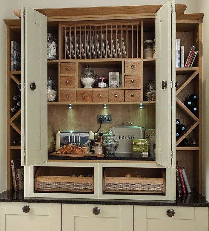 Latest Designs Pantry Cupboard: Brilliant Small Pantry Cupboard#Repin By:Pinterest++ For